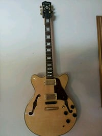 brown and white electric guitar Downingtown, 19335