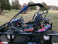 black and blue dune buggy 484 mi