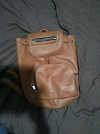 brown leather 2-way handbag Toronto, M4K 2H5