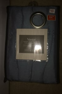 Venice Blue Curtain Panel London, N6K 4T9