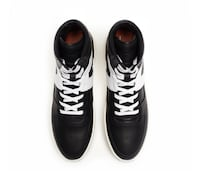 Fear Of God Basketball High Top Sneakers Black - White Leather, Size: EU45 / US11 New York, 11357