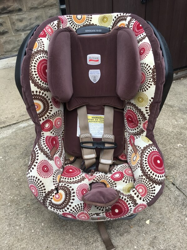 Used Britax Car Seat For Sale In Newton Falls