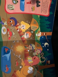 Bubble guppies book Clarksburg