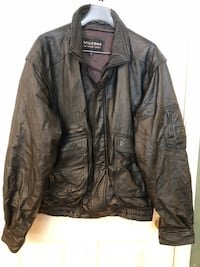 Wilson's Leather Men's Black Leather Jacket 2XLT Manassas, 20112