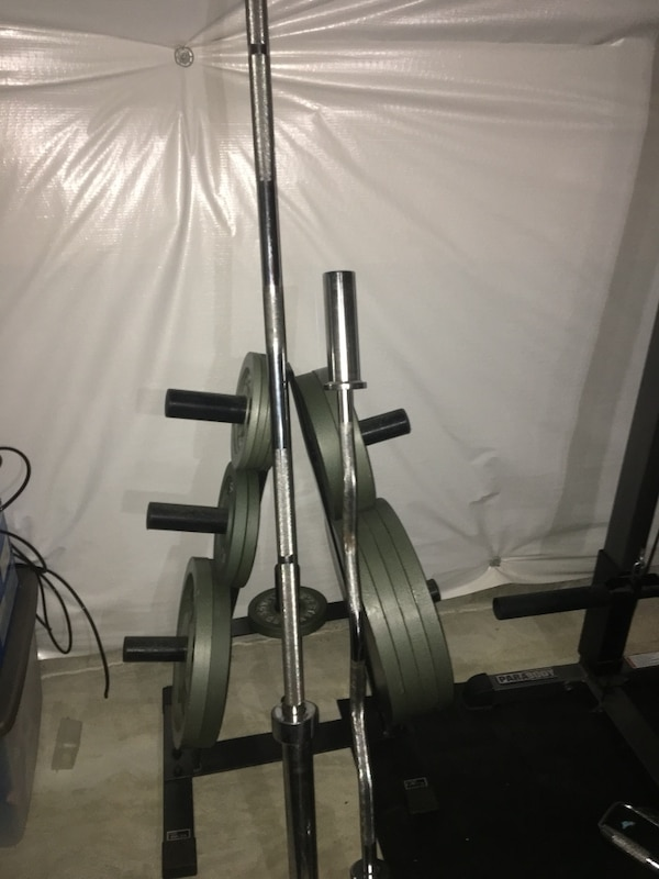 Standard Olympic weights
