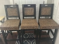 3 bar stools that are super comfortable to sit on (rare!) and ready for a new home!! Rockville, 20850