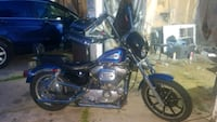 blue and black cruiser motorcycle Green Bay, 54302