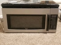 Gorgeous Whirlpool Stainless and Black Microwave York, 29745