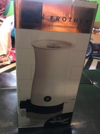 Milk frother goes in caprista warm your milk for expreeso Reidsville, 27320