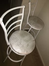 White and gray padded chair Orlando, 32839