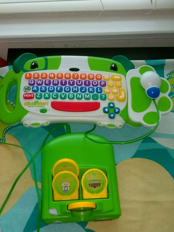 Leap Frog keyboard and mouse video game