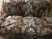 White and brown floral sofa Mc Lean, 22102