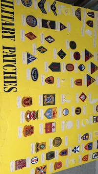 Military patches collection Fredericksburg, 22407