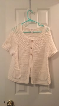 women's white knitted blouse Waverly Hall, 31831