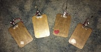 Four mini clip boards could use as keychains McSherrystown, 17344