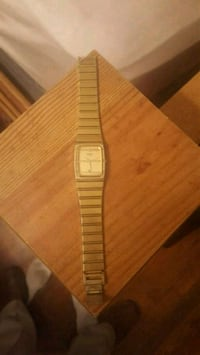square silver analog watch with link bracelet Keansburg, 07734