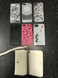 Several iphone 5 cases Ingersoll, N5C 2X8