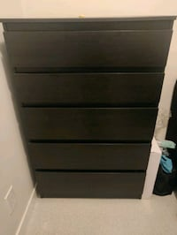 Ikea Chest of 5 drawers for sale in Downtown  Vancouver, V6B 2L9