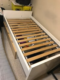 Twin size IKEA bed w/2 drawers Sherwood Park, T8A 4H9