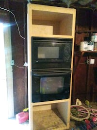 Microwave and oven in the cabinet Independence, 64050