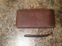 brown wallet with strap KELOWNA
