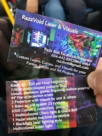 lasers and visuals  Vancouver