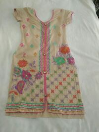 women's brown and pink floral sleeveless dress Ludhiana, 141003