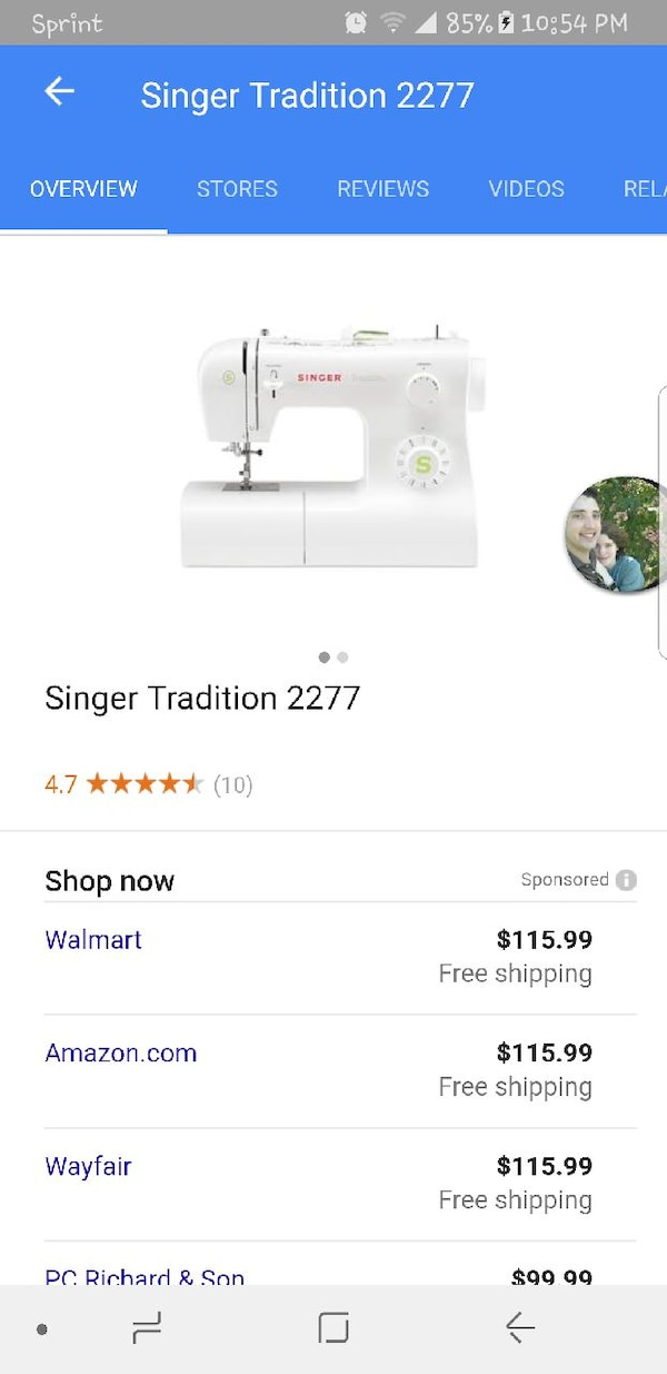 Used Singer 40 Series Sewing Machine For Sale In Petersburg Letgo Best Singer Sewing Machine 2200 Series