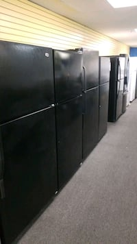 Black top and bottom refrigerators in great condit Randallstown