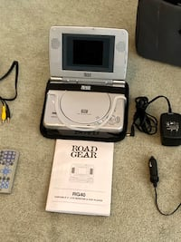 Mobile DVD player and screen