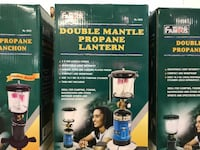 Brand New Double Mantle Propane Lanter for Camping Langley