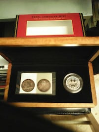 Royal Canadian mint 100th anniversary coin set Ontario, M9W