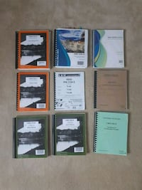 Assortment of University of Ottawa textbooks Ottawa, K1C 6L5