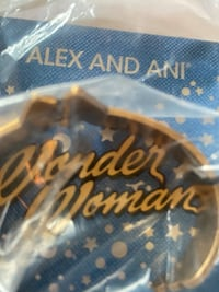 Wonder Woman braclet cuff brand new in package -alex and ani Reston, 20191
