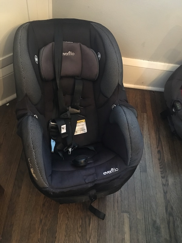 Used Evenflo SureRide Titan 65 Convertible Car Seat For Sale In