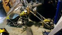 black and yellow cruiser motorcycle 3749 km