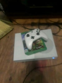 white Xbox One console with controller Baltimore, 21217