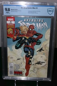 Avenging Spider-Man #9 CBCS 9.8 CAPTAIN MARVEL Mississauga, L5N 7V4