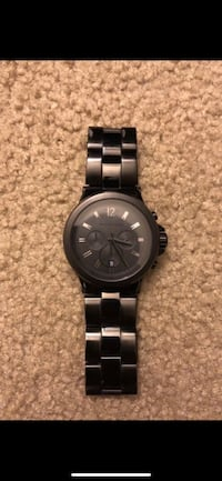 Michael kors black watch - men's.