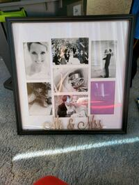 Newlywed Picture Frame