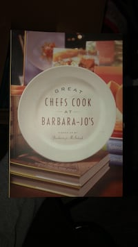 Book: Great Chefs Cook at Barbara-Jo's Burnaby, V5C 0A2