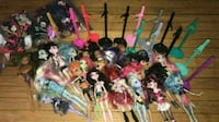 21 monster high dolls w accessories olean ny Olean, 14760