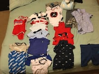 Shoes size 2 & 3 and Clothes 3-6 months