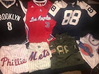 Combo DEALS. 100% Authentic Jerseys (MLB, NBA, NFL) sizes L-XL -> 44 *NO TRADES* Newark, 19702