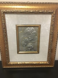 Religious Picture Frame MADE IN ITALY. Gold frame Ajax, L1S