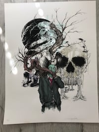 Alex Pardee Collage Print Signed Torrance, 90503