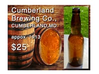 1915 Cumberland Brewing Co. Pre Prohibition Beer Bottle Bethesda, MD, USA