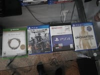 Used ps4 and xbox one games