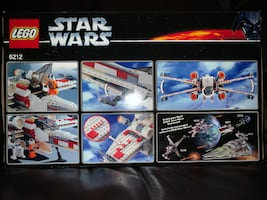 2006 Lego 6212 Star Wars X-Wing Fighter w/Exclusive figures MISB