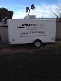 03 Pace utility Trailer 6x12 with AC Chandler, 85224